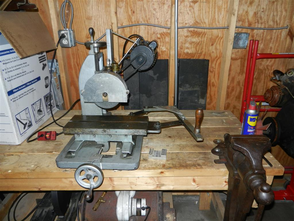 Charming Bench Surface Grinder Part - 3: I Want To Get Myself Some Sort Of Magnetic Chuck For This, But Iu0027ll  Probably Only Be Using It For Removing Fire Scale And Flattening Forged  Bars, ...
